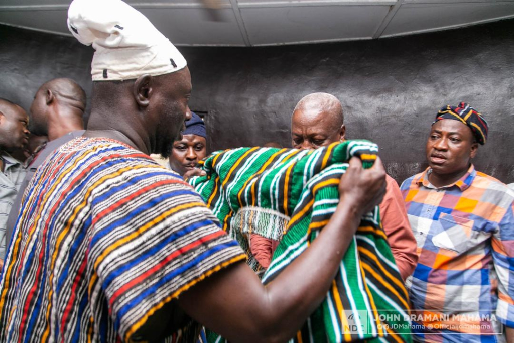 John Mahama's call on Tamale chiefs in pictures